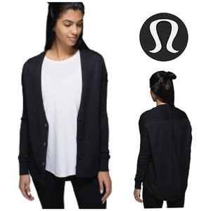 LULULEMON Cardi In The Front Cardigan Sweater